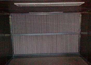 Cabine de pintura filtro seco