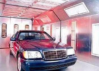 Cabine pintura automotiva preço