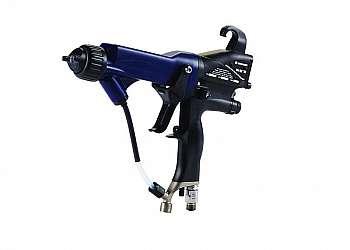 Pistola de pintura eletrostática