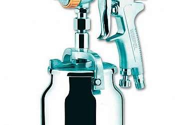 Pistola de pintura automotiva média pressão